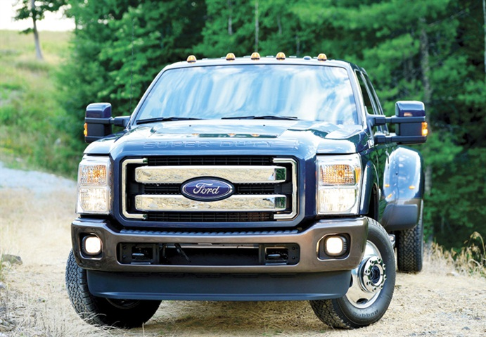 gallery photo of f 350 courtesy of ford best practices in truck maintenance article work. Black Bedroom Furniture Sets. Home Design Ideas