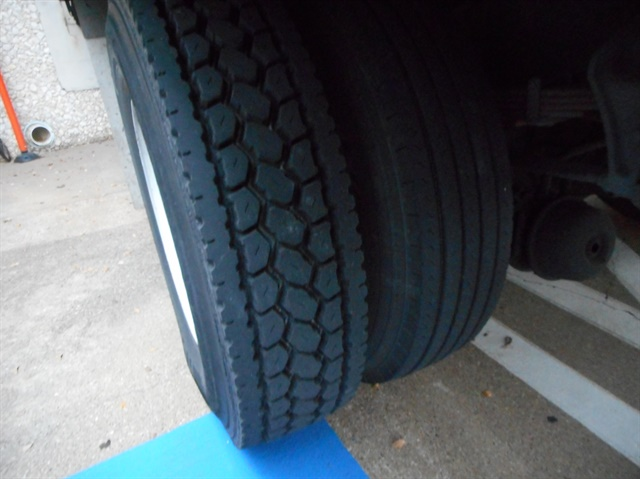 Make sure that your tire provider corrects a mismatch in tread