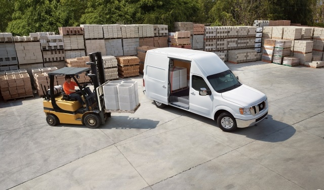 The Nissan NV Cargo Van is offered in three models, two roof heights,