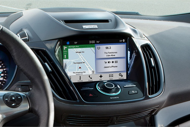 Photo of Sync3 courtesy of Ford.