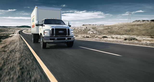 Ford Brings 2016 F 650 F 750 In House Article Work Truck