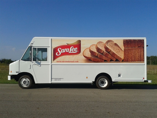 Bimbo Bakeries has added 84 more delivery trucks fueled by propane autogas to its fleet delivering such products as Sara Lee. (PHOTO: Bimbo Bakeries)