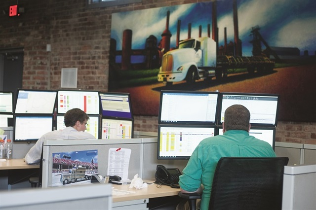 One of the keys to making data work for you is focusing on the key metrics that can make a difference in your company. Focus on what you want to accomplish and how data can help. Photo: McLeod Software/P&S Transportation