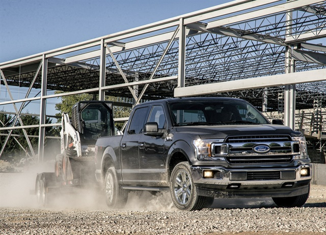 Ford's new Ford F-150 includes new safety options, fuel-saving technology such as auto start-stop on all engines, and a choice of five powertrains. (Photo: Ford Motor Co.)