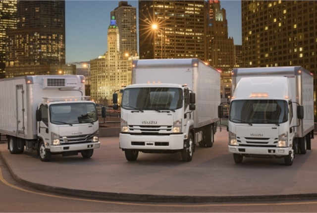 Isuzu's new Class 6 truck hits dealerships in mid-2017. (Photo courtesy of Isuzu Commercial Truck of America)