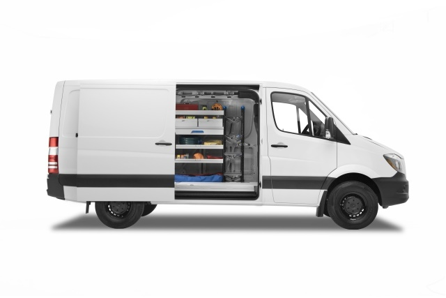 "Mercedes-Benz offers the full-size Sprinter van for 2018 in five models, including the ""Worker,"" with simplified, straightforward equipment and packaging. (Photo: MBUSA)"