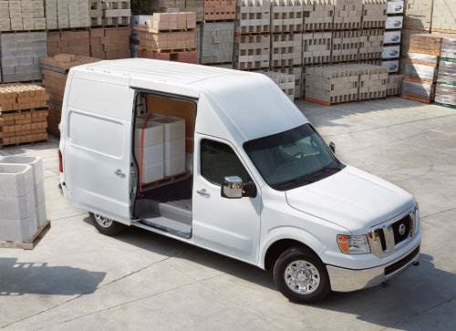 The Nissan NV Cargo van is offered in three models with its Standard Roof or two models in the High Roof body. (PHOTO: NISSAN)