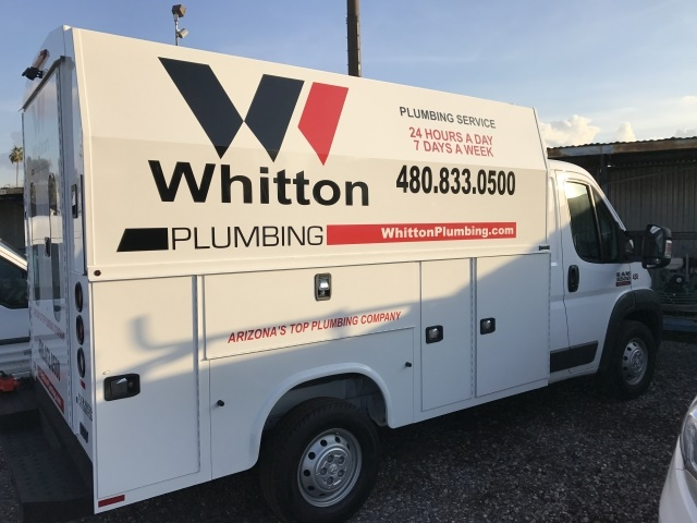 Managing field units can be a challenge, especially when the company offers many different services. Whitton Companies uses telematics to track vehicles, decreasing idling and keeping employees honest. (Photo: Whitton Companies)