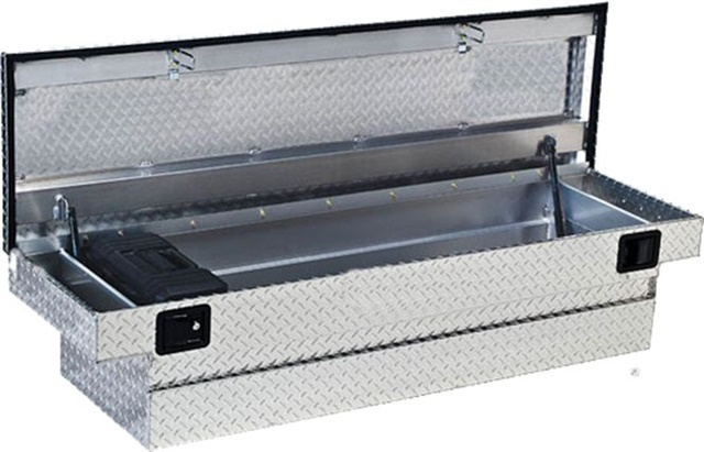 Welds on truck tool box are unsightly and can cause significant imperfections. (Photo courtesy of LORD Corp.)