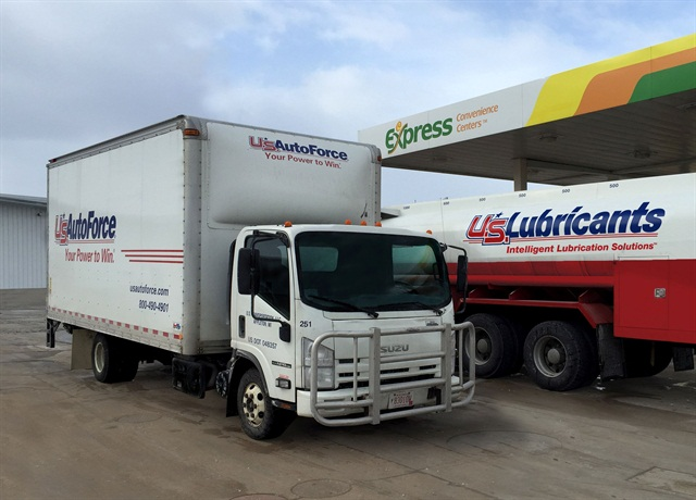 U.S. AutoForce operates a fleet of more than 390 vehicles, including medium-duty trucks. (PHOTO: U.S. AutoForce)