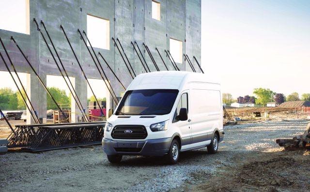 Photo of Transit full-size van courtesy of Ford.