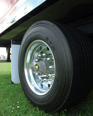 Proper inflation is critical to casing integrity and blowout prevention, so tire inflation or monitoring systems make sense with wide-base single tires.