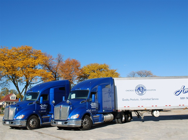 Amigos Logistics is mainly a heavy-duty truck fleet, but is increasing its usage of vans for delivery applications. (PHOTO: Amigos Logistics)