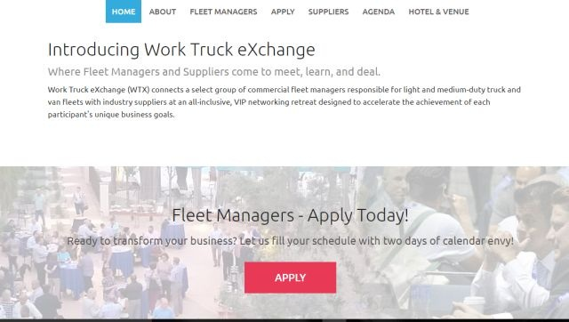 The entire event is designed to help fleet managers exchange information, explore ideas, extend their network, and expand options.