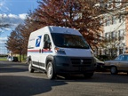 Ram Commercial will produce and customize 9,113 MY-2016 ProMaster 2500 cargo vans for USPS. Photo courtesy of USPS.