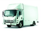 Isuzu Commercial Truck of America also offers a box truck version of its popular NPR series.