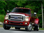 ROUSH CleanTech can retrofit propane-autogas medium-duty vehicles, including the Ford F-450 (pictured).