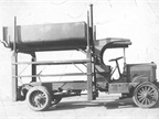<p>Truck upfitting has come a long way since this early dump truck model upfit from 1918. <em>(Photo courtesy of Auto Truck Group)</em></p>