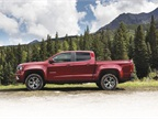 The 2015-MY Colorado will be available in three configurations. The chassis for the North American version of the truck is 40-percent lighter than the global model.