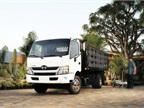 The Hino Model 155 Class 4 COE truck will be offered in several body types and five body lengths. (PHOTO: Hino Trucks)