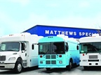 Matthews Specialty Vehicles converted three vehicles into bloodmobiles and sent them to West Africa to combat the Ebola virus. (PHOTO: MATTHEWS SPECIALTY VEHICLES)