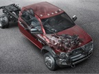 Ram Trucks now offers right- and left-hand power take-off (PTO) options on Ram 3500, 4500, and 5500 Chassis Cab trucks. (PHOTO: Ram Truck)