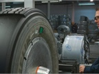 Photo of truck tire being retread courtesy of Jim Park.