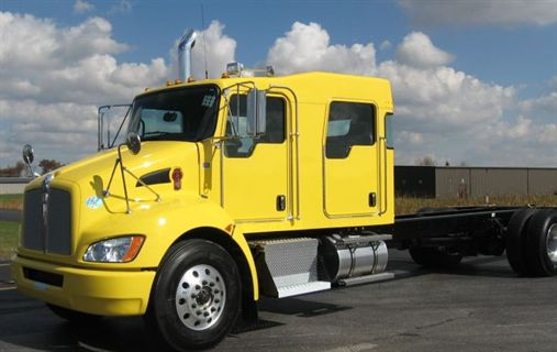 Kenworth Offers Aftermarket Crew Cab Conversion Option For