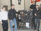 Michigan Dealer Gives Engine to Vocational College