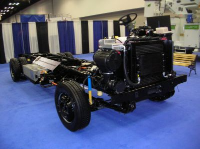 Workhorse Displays New Hybrid Truck Chassis