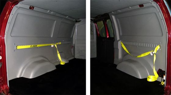 Adrian Steel Releases Poly Liner Kits For Ford Econoline Cargo Vans Top News Vehicle