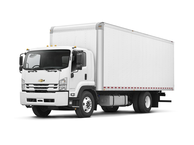 Photo of 2018 6500XD Low Cab Forward truck courtesy of Chevrolet.