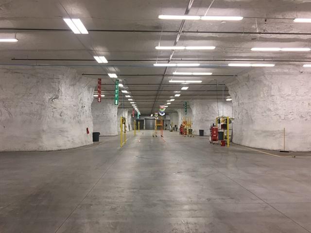 Dejana s new  ship-thru facility will be located entirely underground