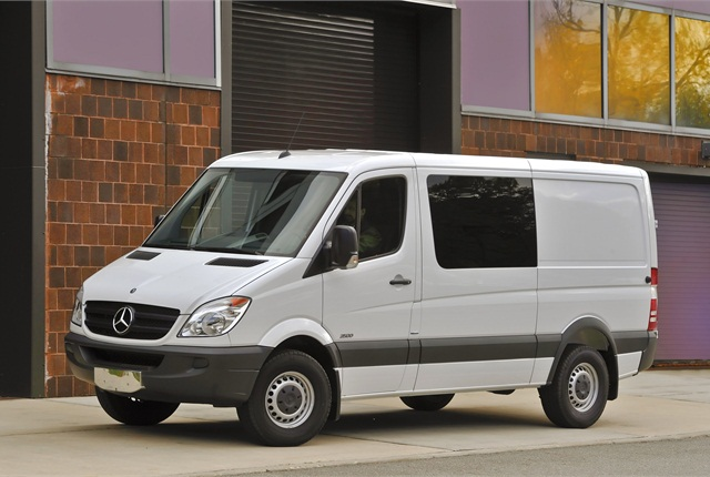 Sprinter adds more utility for 2013 with fixed payment for Mercedes benz financial services online payment