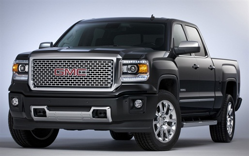 GMC debuted the 2014-MY Sierra Denali with 6.2L V-8 on Sept. 12 to journalists in Los Angeles