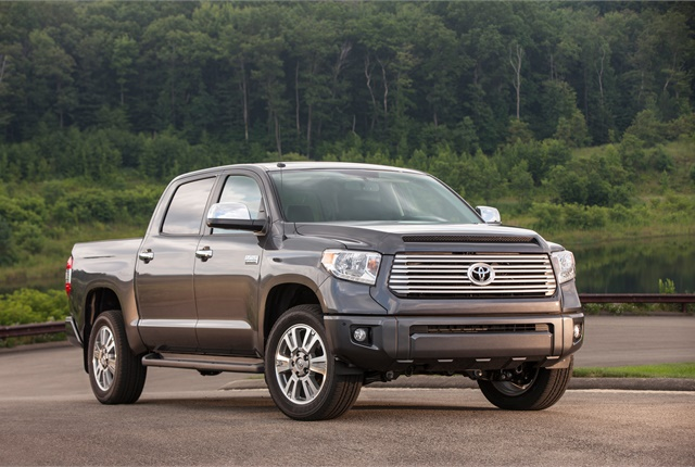 Photo of Ford Tundra courtesy of Ford.