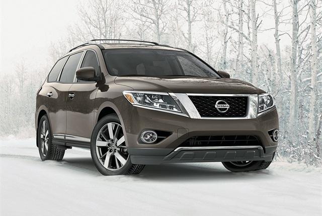 Photo of Nissan Pathfinder courtesy of Nissan.