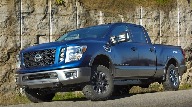 Crew Cab XDs are the first models to be offered. Single and King Cabs will come later this year. Photos: Nissan North America