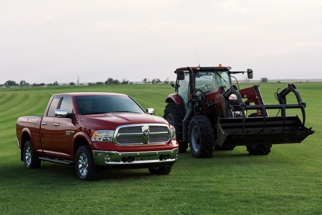 Ram supports American farmers with the first truck designed specifically for the agriculture industry. (PHOTO: FCA US)