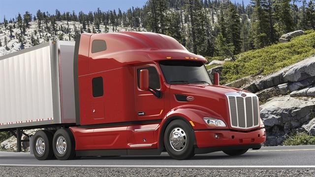 Peterbilt believes the newly announced Model 579 UltraLoft will help it win additional on-highway fleet business. Photo: Peterbilt