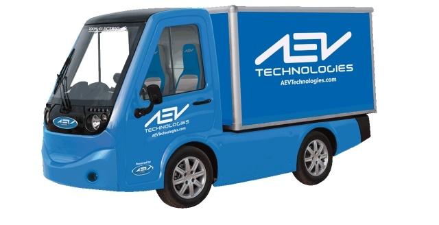Image of 411 electric utility vehicle courtesy of AEV Technologies.