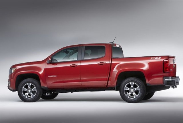 Photo of the 2016 Chevrolet Colorado courtesy of GM.