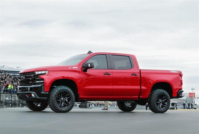 Photo of 2019 Chevrolet Silverado courtesy of GM.