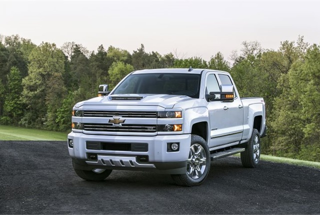 Photo of 2017 Chevrolet Silverado 2500 HD courtesy of GM.