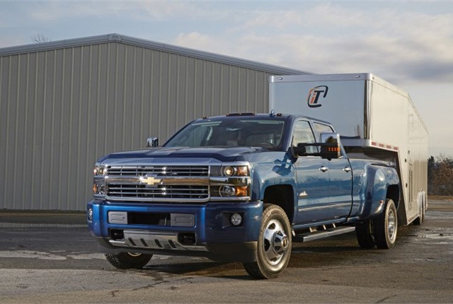 Photo of 2016 Chevrolet Silverado 3500HD courtesy of GM.