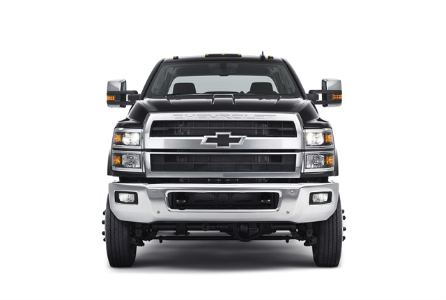 Photo of 2019 Chevrolet Silverado chassis cab truck courtesy of General Motors.