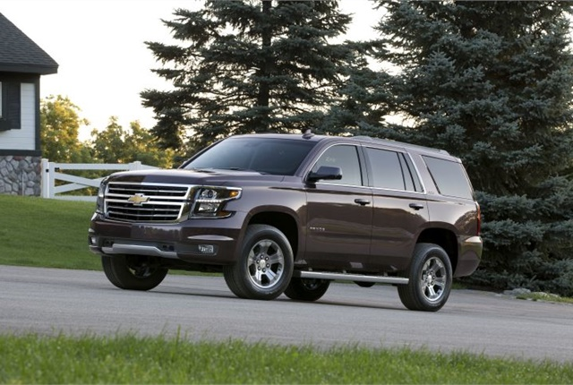 Photo of 2016 Chevrolet Tahoe Z71 courtesy of GM.