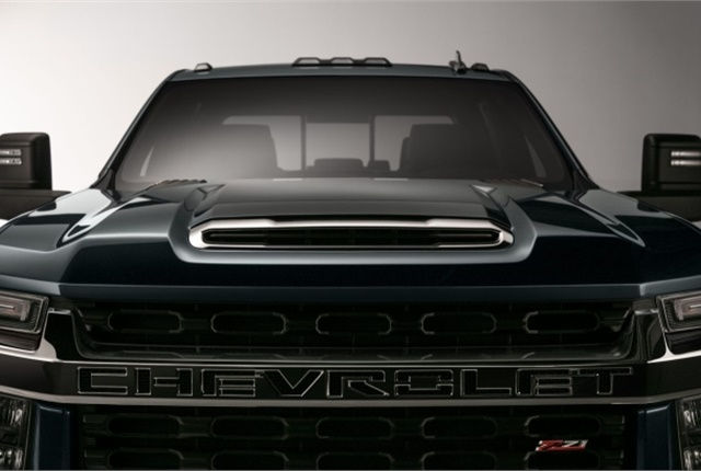 On-road testing of the new Silverado HD prototypes will begin in the near future and production is expected to start in the third-quarter of 2019. Photo courtesy of General Motors