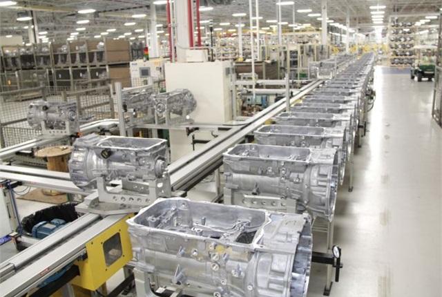 Photo of Kokomo Transmission Plant courtesy of Chrysler.