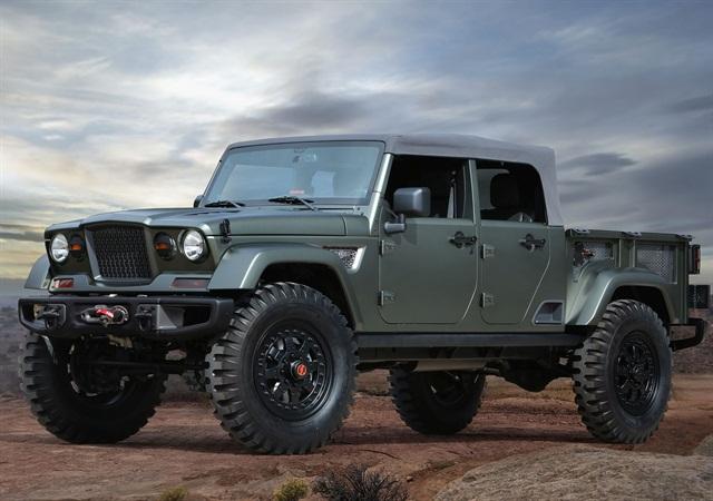 Jeep Crew Chief 715 Concept. Photo: FCA